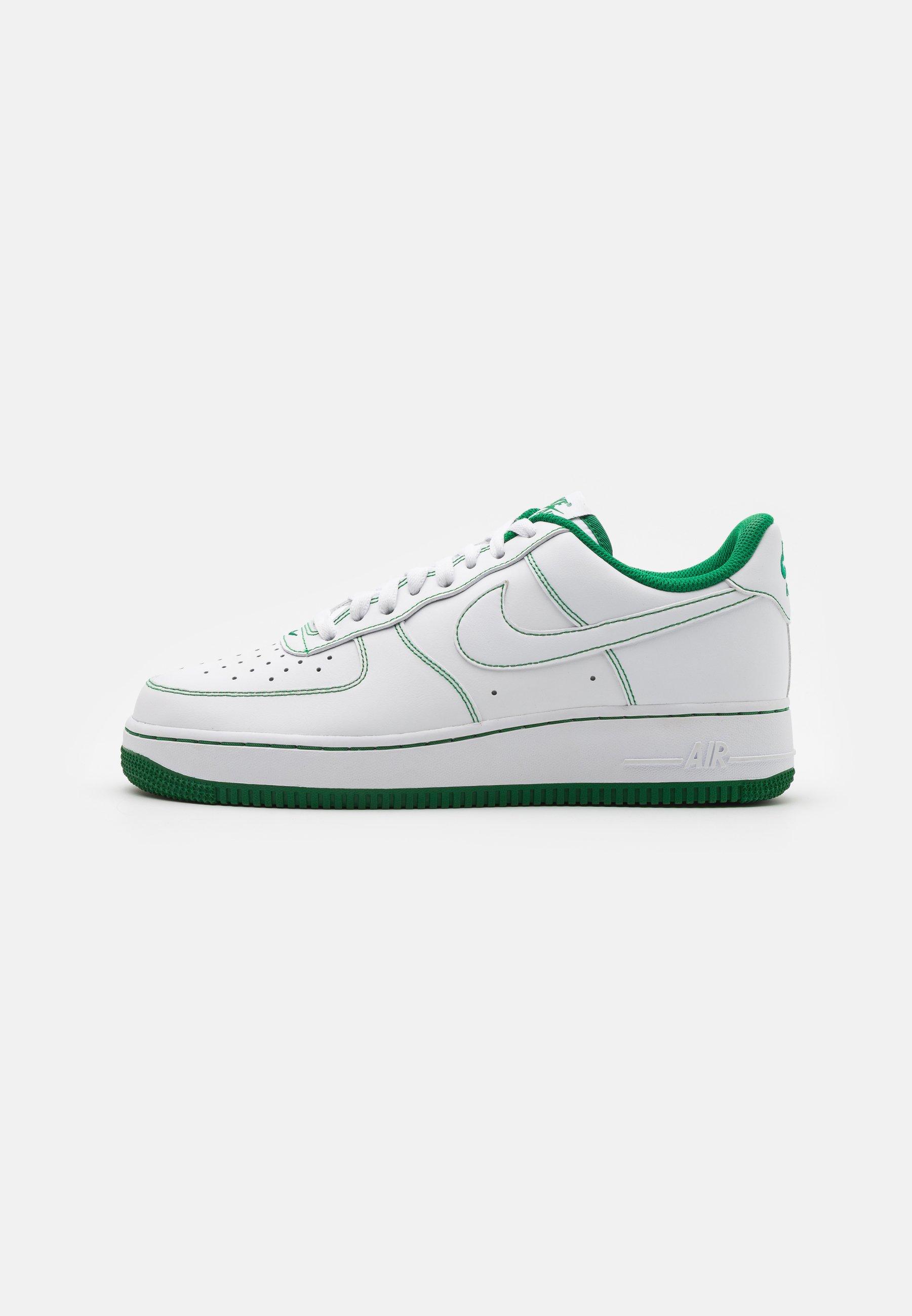 Nike Sportswear Air Force 1 07 Stitch Trainers White Pine Green White Zalando Ie