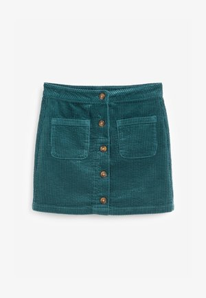 CORD  - A-line skirt - green