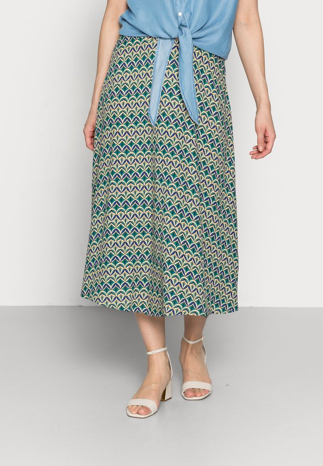 JUNO - A-line skirt - minty meadow