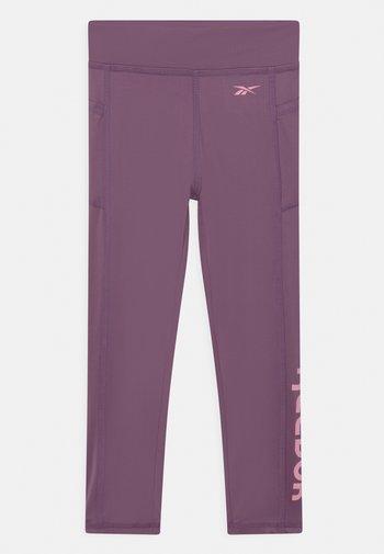 ANKLE - Leggings - Trousers - grape