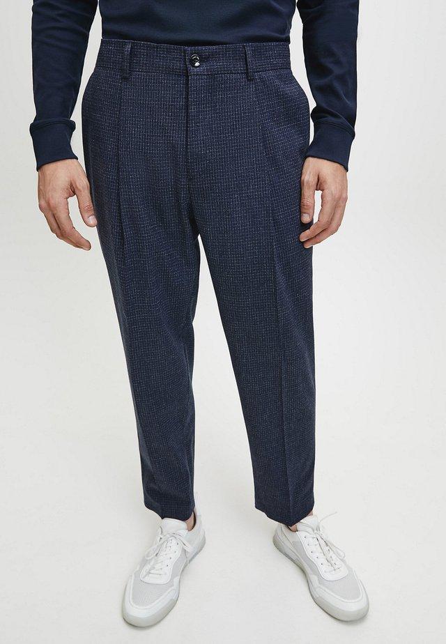 Pantaloni eleganti - calvin navy