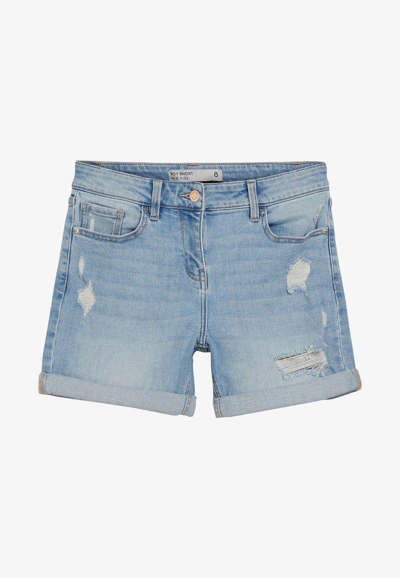 Next - Denim shorts - mottled blue