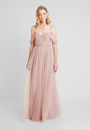 BARDOT - Společenské šaty - smoked blush
