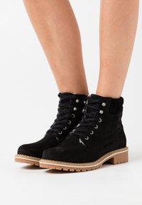 Vero Moda Wide Fit - VMSINEA BOOT WIDE FIT - Winter boots - black - 0