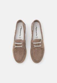 Tamaris - Boat shoes - smoke - 4