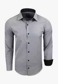 Rusty Neal - FREIZEIT-HEMD - Shirt - grau - 0