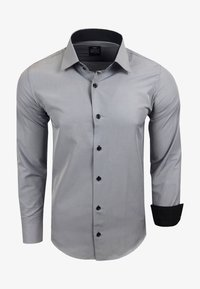 FREIZEIT-HEMD - Shirt - grau