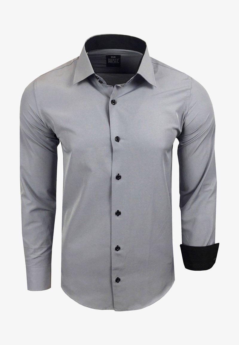 Rusty Neal - FREIZEIT-HEMD - Shirt - grau