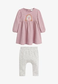Next - RAINBOW SET - Leggings - Trousers - pink - 0