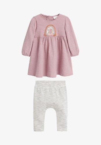 RAINBOW SET - Leggings - Trousers - pink