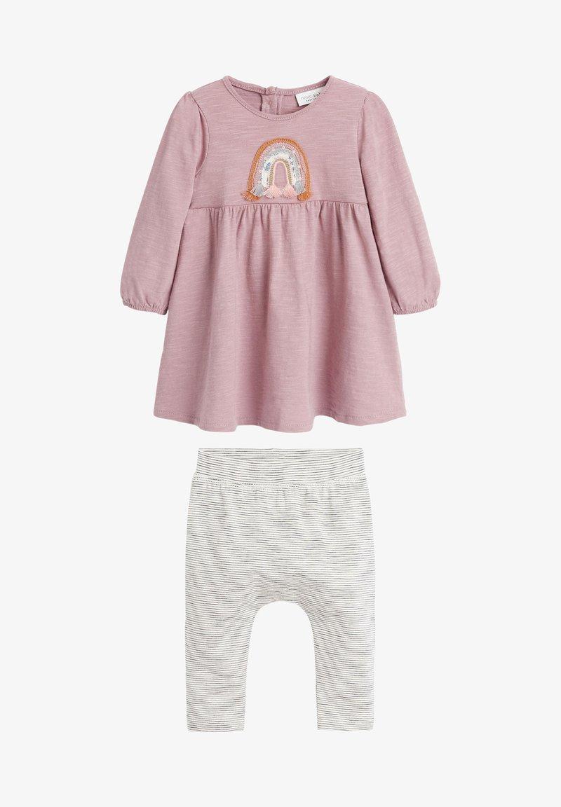 Next - RAINBOW SET - Leggings - Trousers - pink
