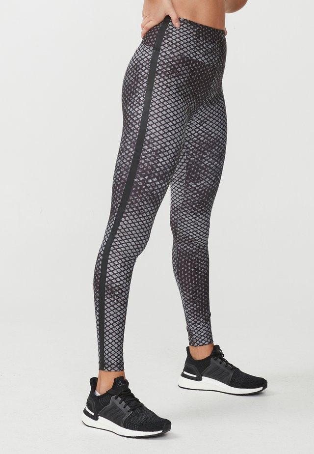 FLATTERING  - Leggings - etchy black