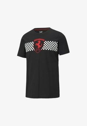 SCUDERIA FERRARI  - T-shirt print - black