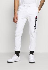 Champion Rochester - Pantalon de survêtement - white - 0