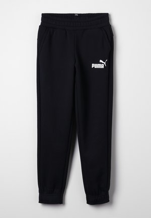 ESS LOGO SWEAT PANTS FL CL B - Tracksuit bottoms - black