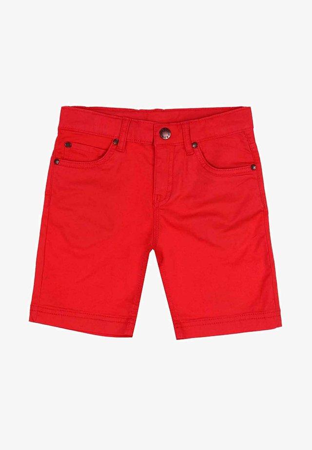 Shorts di jeans - rojo