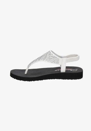 MEDITATION - T-bar sandals - wit