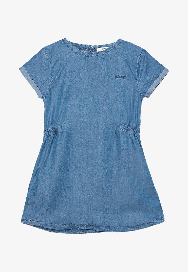 Esprit - Denim dress - blue light wash/blue