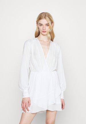 FLOUNCE AROUND DRESS - Day dress - white