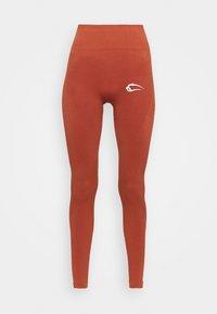 SEAMLESS DAMEN BLOOM - Trikoot - orange