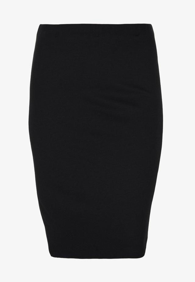 PUNTO DI MILANO - Pencil skirt - schwarz