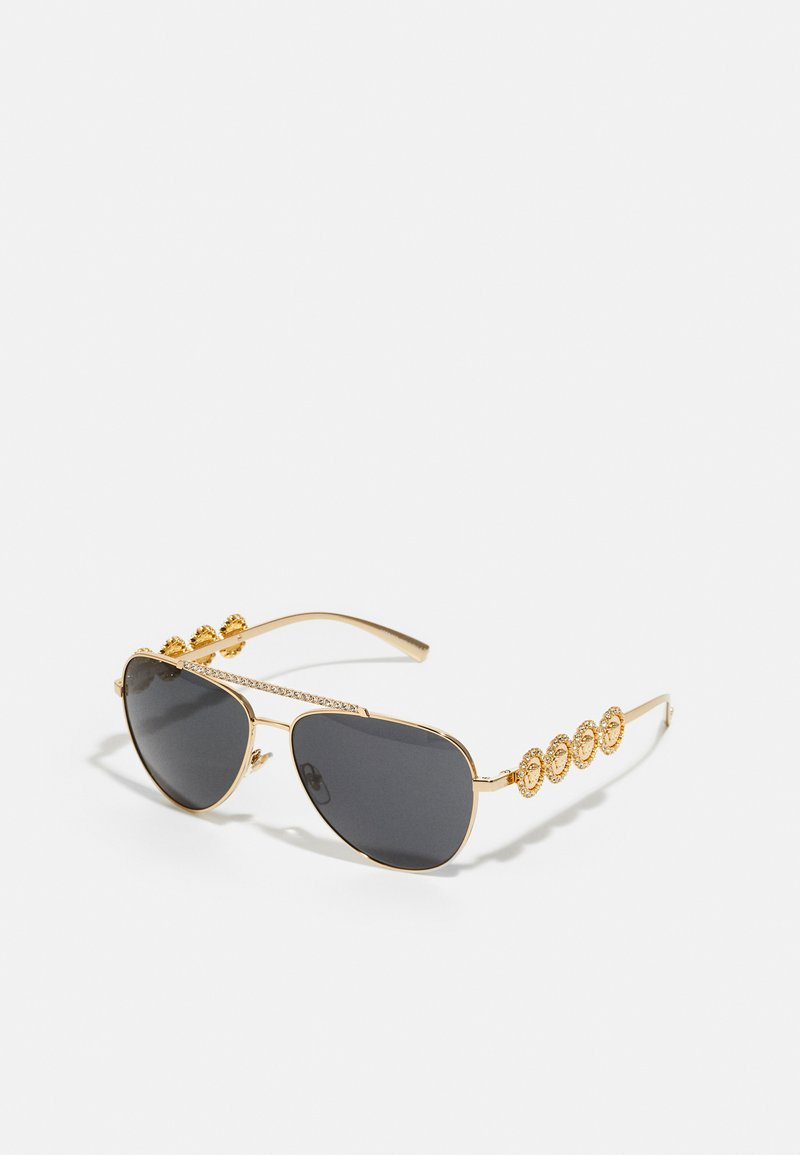 Versace - Sunglasses - gold-coloured/black