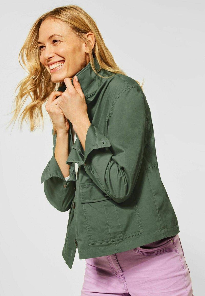Cecil - Light jacket - grün