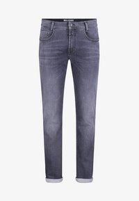 MAC Jeans - MACFLEXX GRAUTÖNE - Slim fit jeans - authentic dark grey - 2
