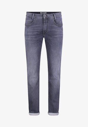 MACFLEXX GRAUTÖNE - Slim fit jeans - authentic dark grey
