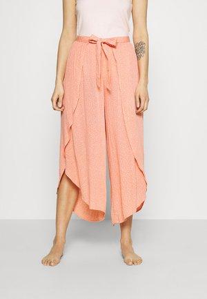 TALLOWS SPOT PANT - Pyjama bottoms - coral