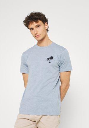 ALDER SLUB TEE - T-shirts med print - asley blue