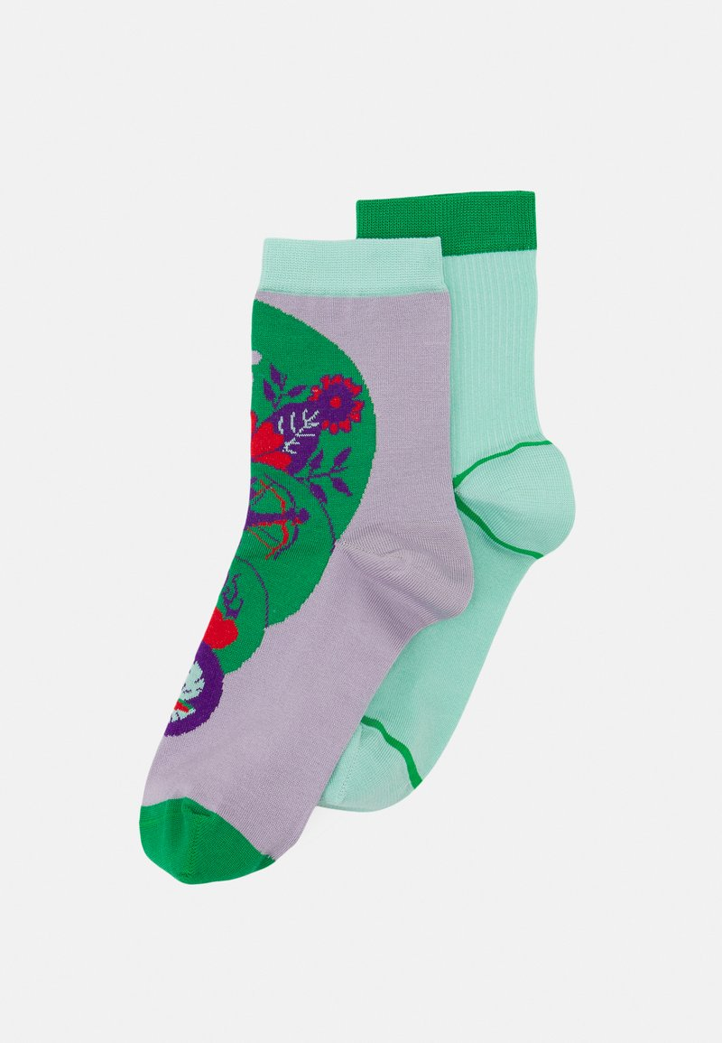 Hysteria by Happy Socks - STINA + LIV 2 PACK - Socks - purple/green