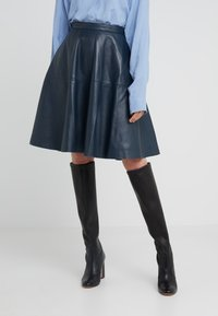 STUDIO ID - TESSA SKIRT - A-Linien-Rock - dark blue - 0
