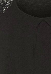 Anna Field Curvy - Print T-shirt - black - 6