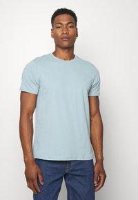 Topman - 7 PACK - Camiseta básica - mottled grey/khaki/blue - 4