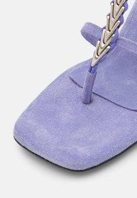 Dorateymur - NARCISSIST THONG  - T-bar sandals - violet - 6