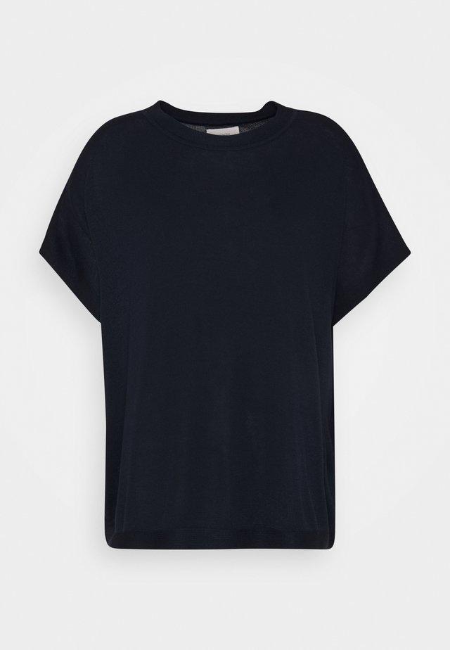 NUDARLENE - Stickad tröja - dark sapphire