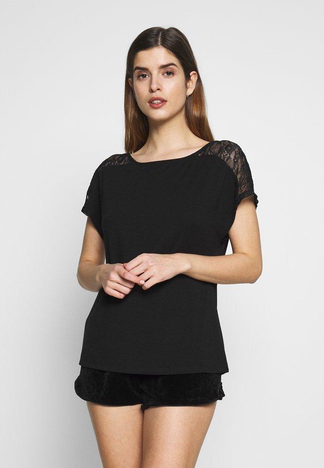 SAN - Maglia del pigiama - black