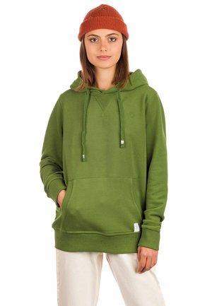 Sweatshirt - bronze green