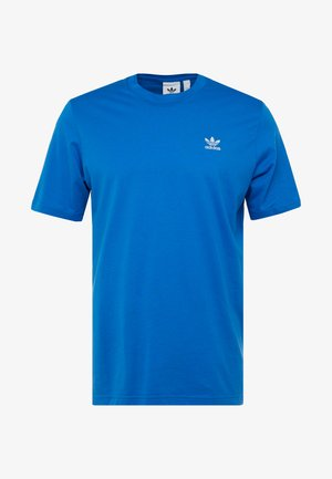 ADICOLOR ESSENTIAL TEE - Print T-shirt - bluebird