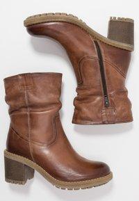 Anna Field - LEATHER WINTER BOOTIES - Zimní obuv - brown - 3