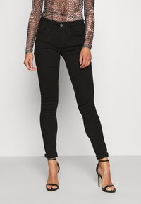 G-Star - LYNN MID SKINNY WMN - Jeans Skinny Fit - pitch black - 0