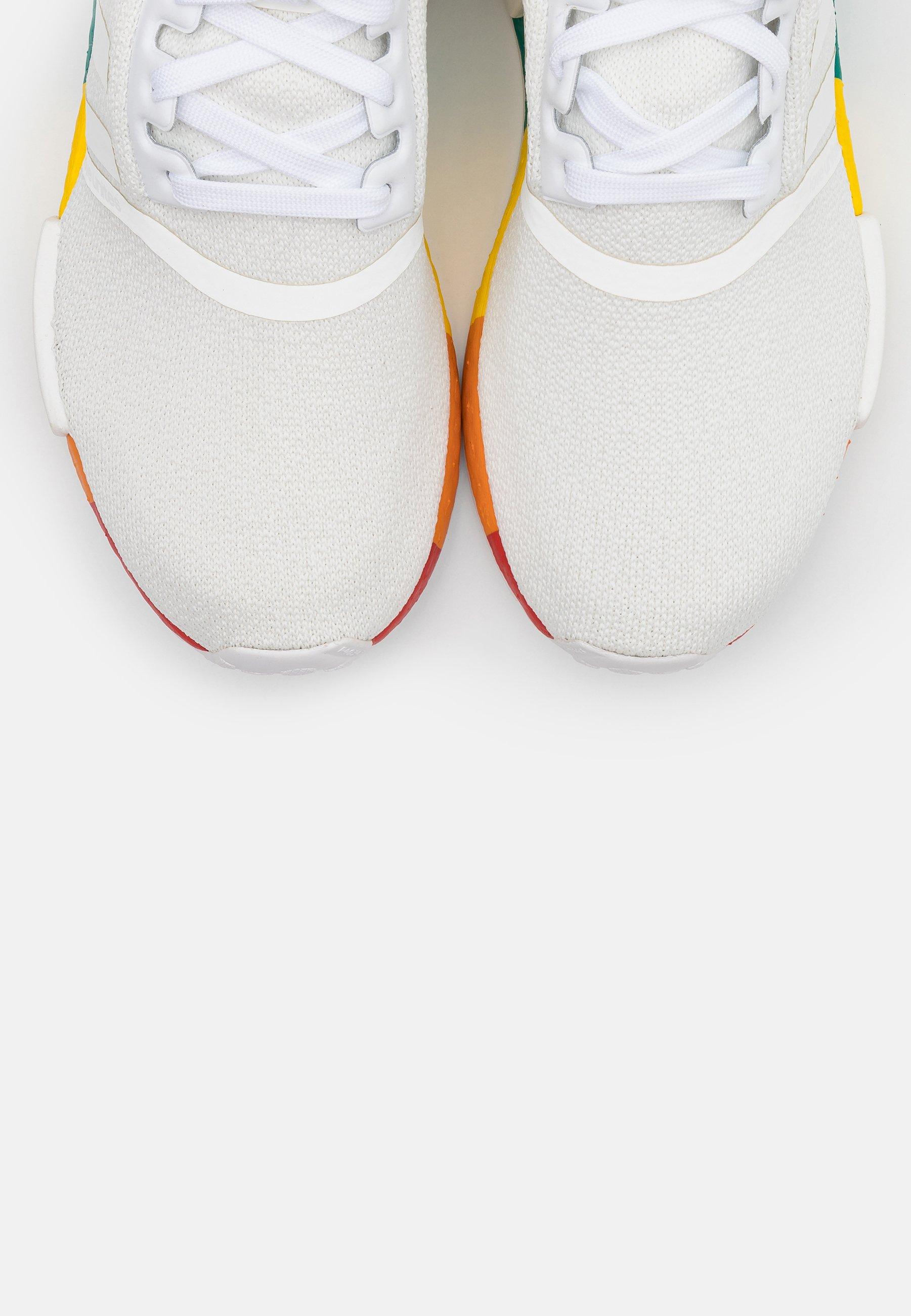 adidas Originals NMD_R1 PRIDE - Baskets basses - footwear white - Sneakers femme Grande vente