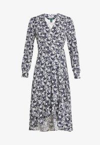 Lauren Ralph Lauren - MATTE DRESS - Žerzejové šaty - navy/pale - 4