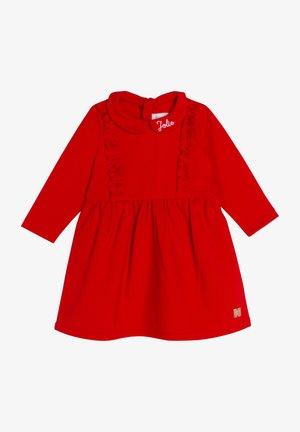 ROBE - Gebreide jurk - new red