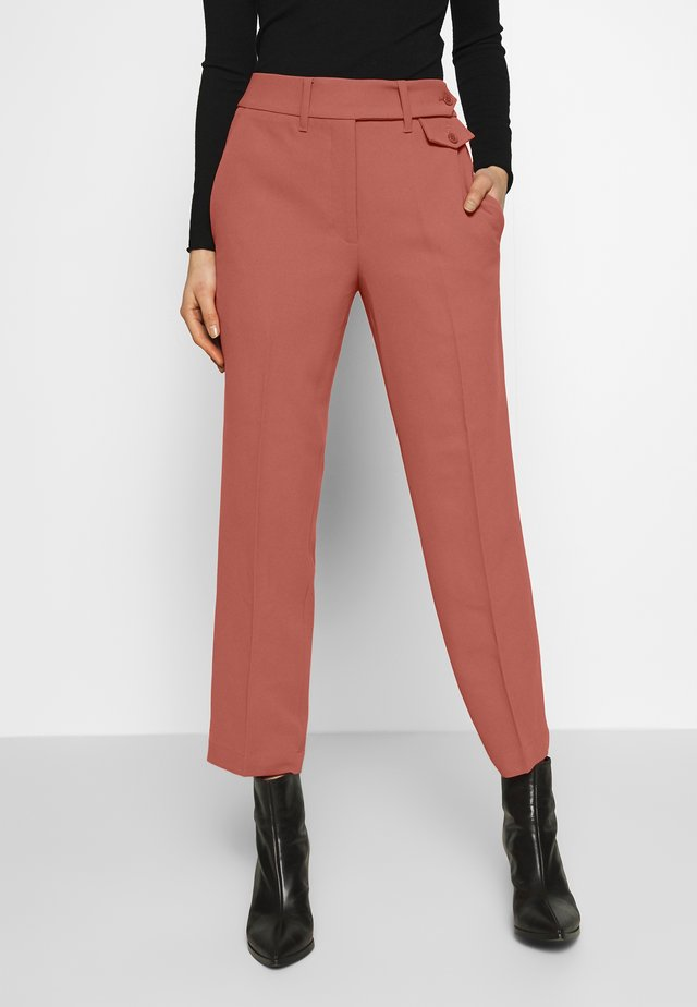 COPPOLA - Trousers - old rose