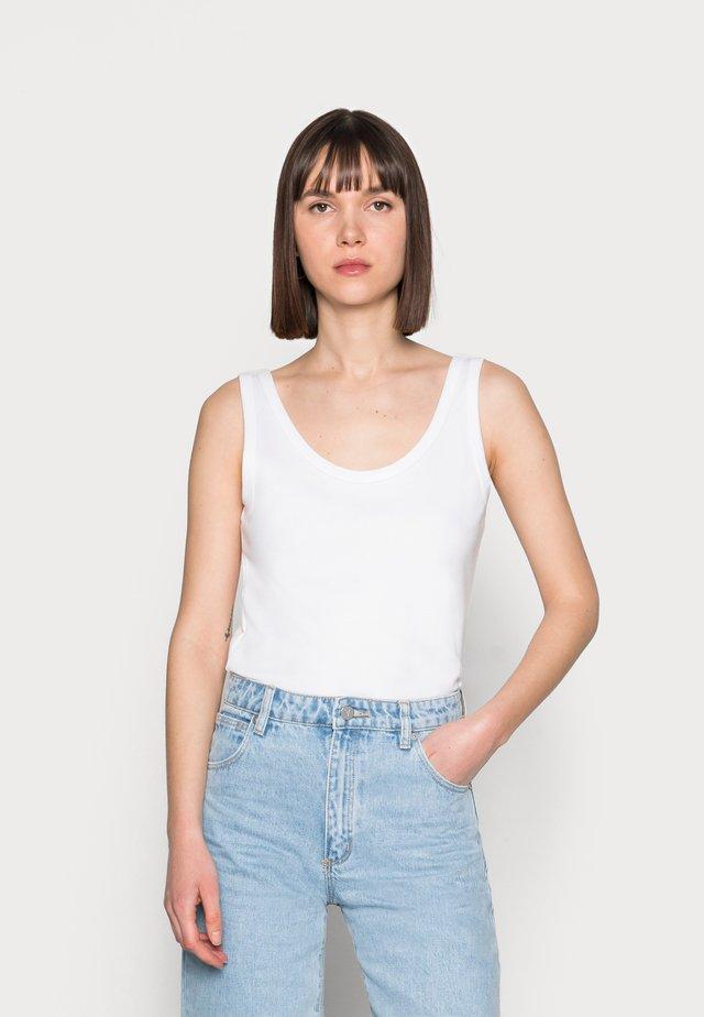 MALBA - Top - bright white
