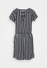 Vero Moda Tall - VMSASHA BALI SHORT DRESS - Day dress - navy blazer/coco - 1