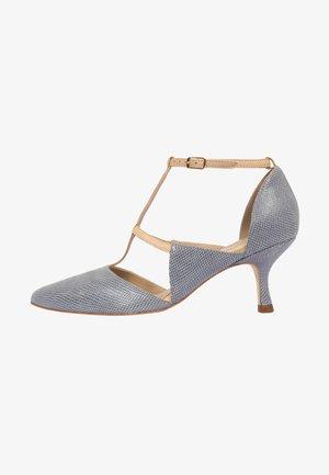 Klassieke pumps - blue grey