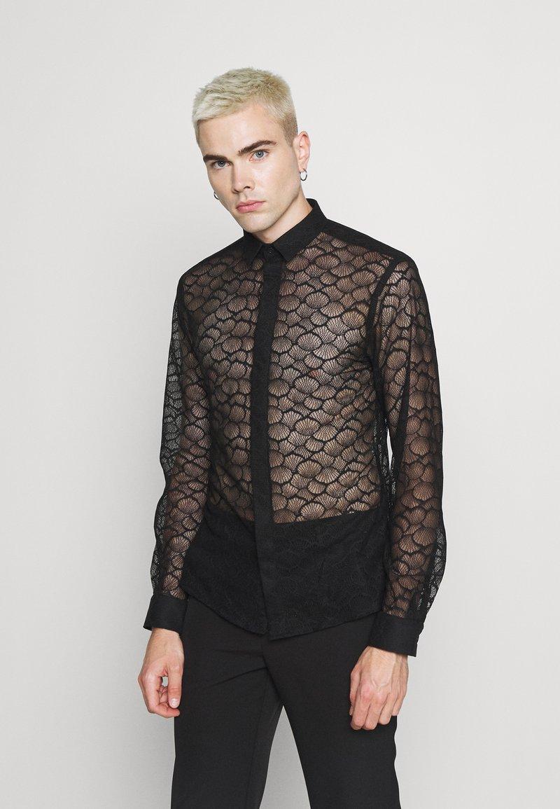 Twisted Tailor - PHONOX SHIRT - Košile - black